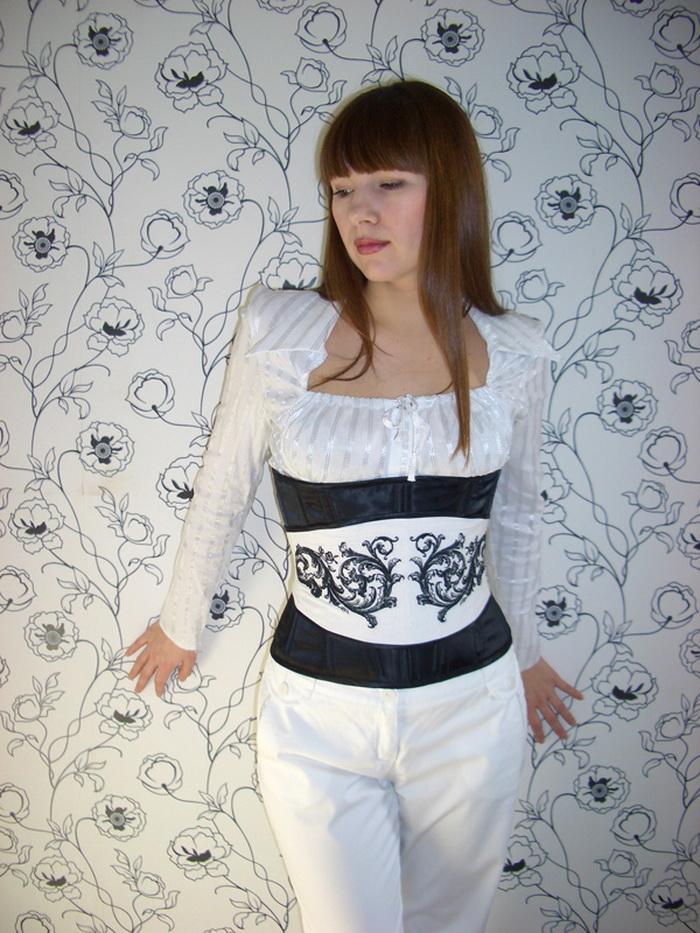 пошив прямой юбки